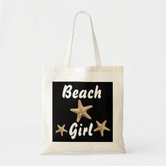 Tote Bag Étoiles de mer fourre-tout de fille de plage