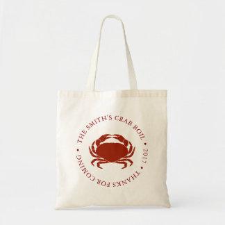 Tote Bag Événement customisé d'ébullition de crabe