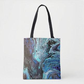 Tote Bag Explosion bleue Fourre-tout