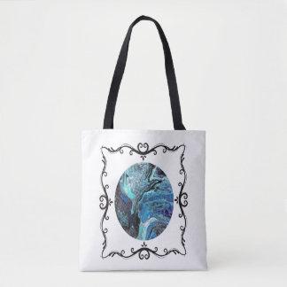 Tote Bag Explosion bleue Fourre-tout deux