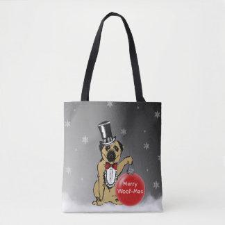 Tote Bag Expositions canines de monsieur Pug vos souhaits