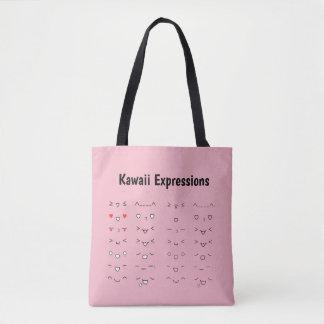 Tote Bag Expressions de Kawaii