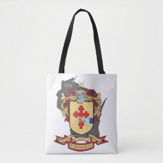 """Tote Bag Famille Crest_Wisconsin Fourre-tout d'O """" Donnell"""
