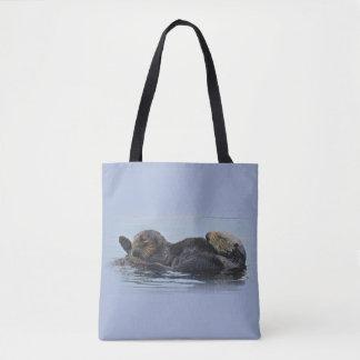 Tote Bag Faune fourre-tout, loutres de mer, espèce marine