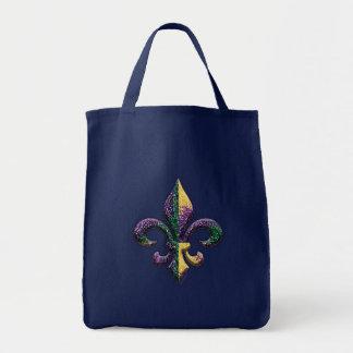 Tote Bag Faux Fleur perlé de lis