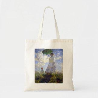 Tote Bag Femme avec un parasol par Claude Monet