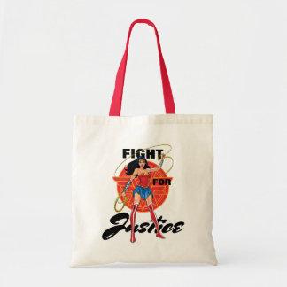Tote Bag Femme de merveille avec le lasso - combat pour la