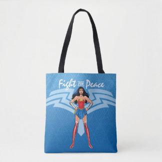 Tote Bag Femme de merveille - combat pour la paix