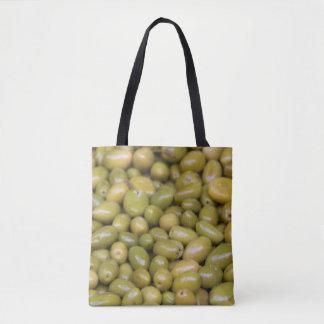 Tote Bag Fermez-vous des olives vertes