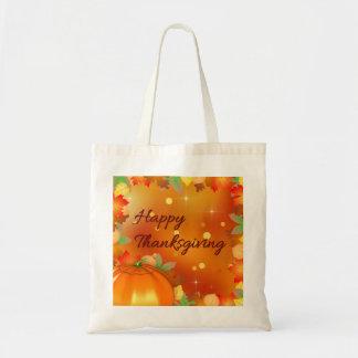 Tote Bag Feuille d'automne coloré - budget Fourre-tout de