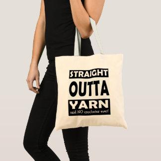 Tote Bag Fil droit d'Outta • Métiers/votre texte