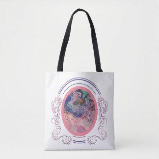 Tote Bag Flamants par la mer Fourre-tout deux