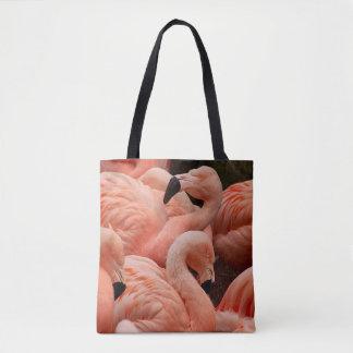 Tote Bag Flamants roses