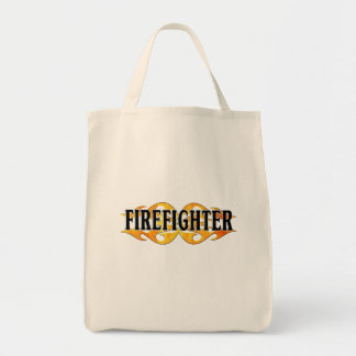 Tote Bag Flammes de sapeur-pompier