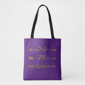 Tote Bag Flèche d'epsilon de phi de delta