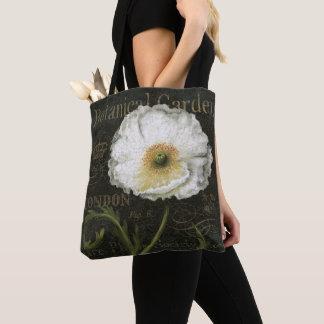 Tote Bag Fleur de pavot cultivé