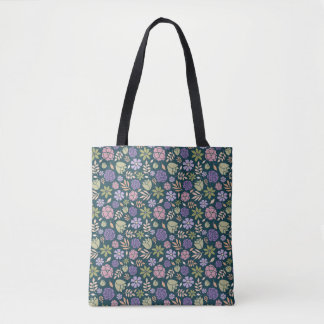 Tote Bag Fleur Fourre-tout