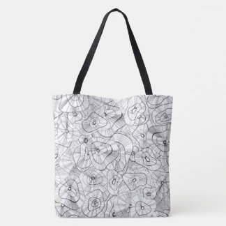 Tote Bag Fleurs blanches