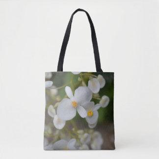 Tote Bag Fleurs blanches de bébé
