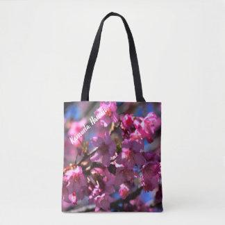 Tote Bag Fleurs de cerisier d'Hawaï