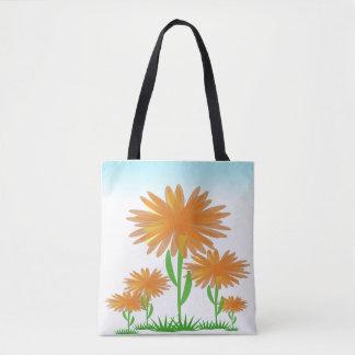 Tote Bag Fleurs de soleil