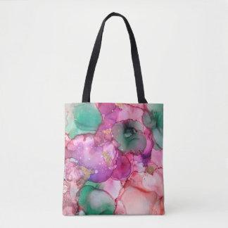 Tote Bag Fleurs - Inkwork par Karen Ruane