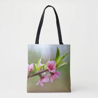 Tote Bag Fleurs pour le ressort et l'été fourre-tout