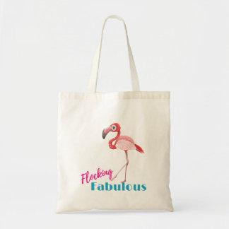 Tote Bag Flocage de la typographie fabuleuse avec le