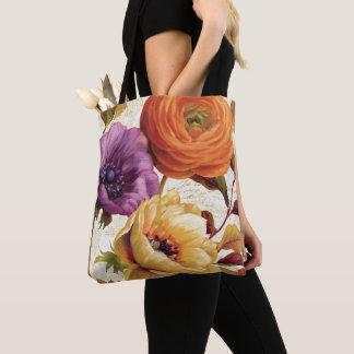 Tote Bag Floral en pleine floraison