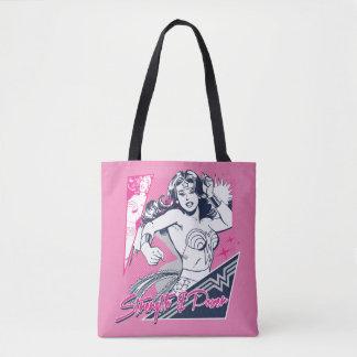 Tote Bag Force et puissance de femme de merveille