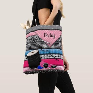 Tote Bag Fourre-tout de couture - 3D -