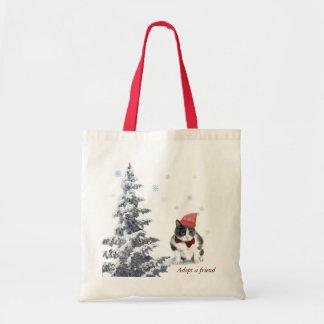 Tote Bag fourre-tout ;  Felix, le chat, en janvier