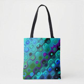 Tote Bag Fourre-tout mignon avec l'éclat de couleur