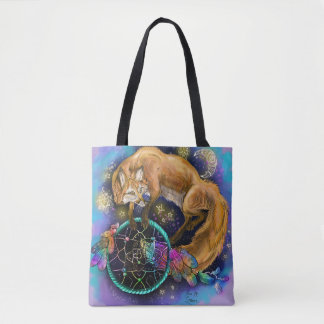 Tote Bag Fox de DreamCatcher