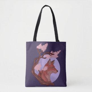 Tote Bag Fox de Sakura