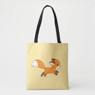 Tote Bag Fox mignon de fonctionnement
