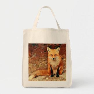 Tote Bag Fox rouge