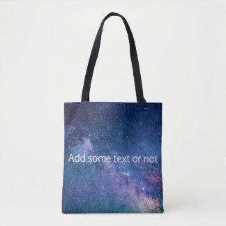 Tote Bag Galaxie de manière laiteuse