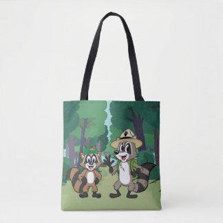 Tote Bag Garde forestière Rick et Ricky de Rick | de garde