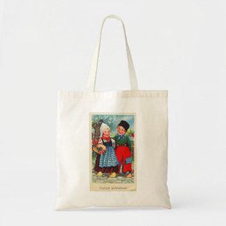 Tote Bag Gefeliciteerd néerlandais vintage de hartelijk