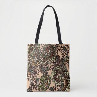 Tote Bag Gemmes éclectiques de Paisley Boho