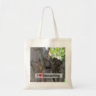 Tote Bag Geocache de cintre d'arbre