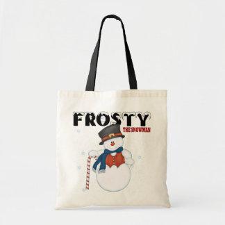 Tote Bag Givré le bonhomme de neige