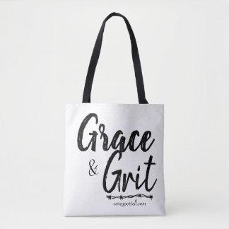 Tote Bag Grâce et noir de Fourre-tout d'épicerie de