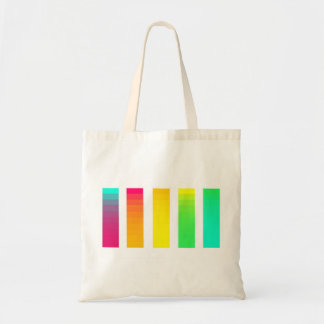 Tote Bag Gradient Fourre-tout d'arc-en-ciel