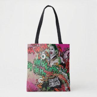Tote Bag Graffiti de caractère de joker du peloton | de