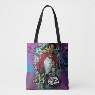 Tote Bag Graffiti de caractère du peloton   Amanda Waller