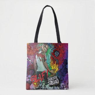 Tote Bag Graffiti de caractère du peloton | Diablo de