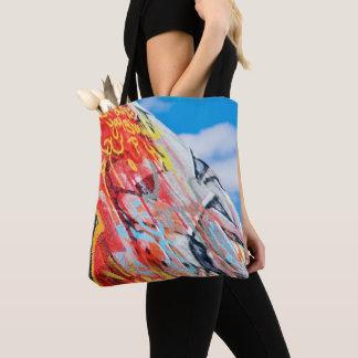 Tote Bag graffiti de planète