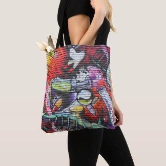 Tote Bag Graffiti médical coloré de thème